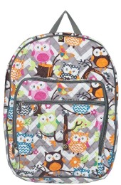 Large Quilted Backpack-GQL926/GR