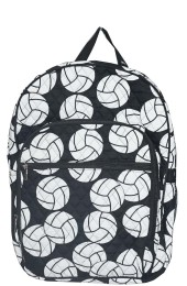 Large Quilted Backpack-VOY926/BK