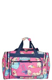 Printed Duffle Bag-DGQ420/NV