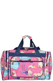 Printed Duffle Bag-DGQ423/NV