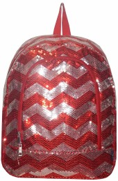 Sequin Backpack-ZIQ403/RED