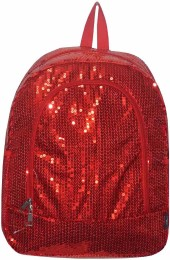 Sequin BackPack-SQB403/RED